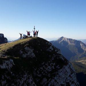 Groupe Montagne, 1ère sortie