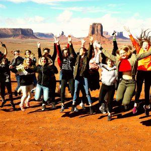 Les élèves de CAPa 2 de retour du voyage scolaire aux USA