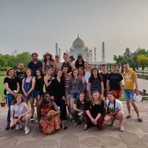Les élèves de Première en voyage en Inde