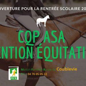 CQP ASA mention équitation, ouverture pour la rentrée scolaire 2020 !